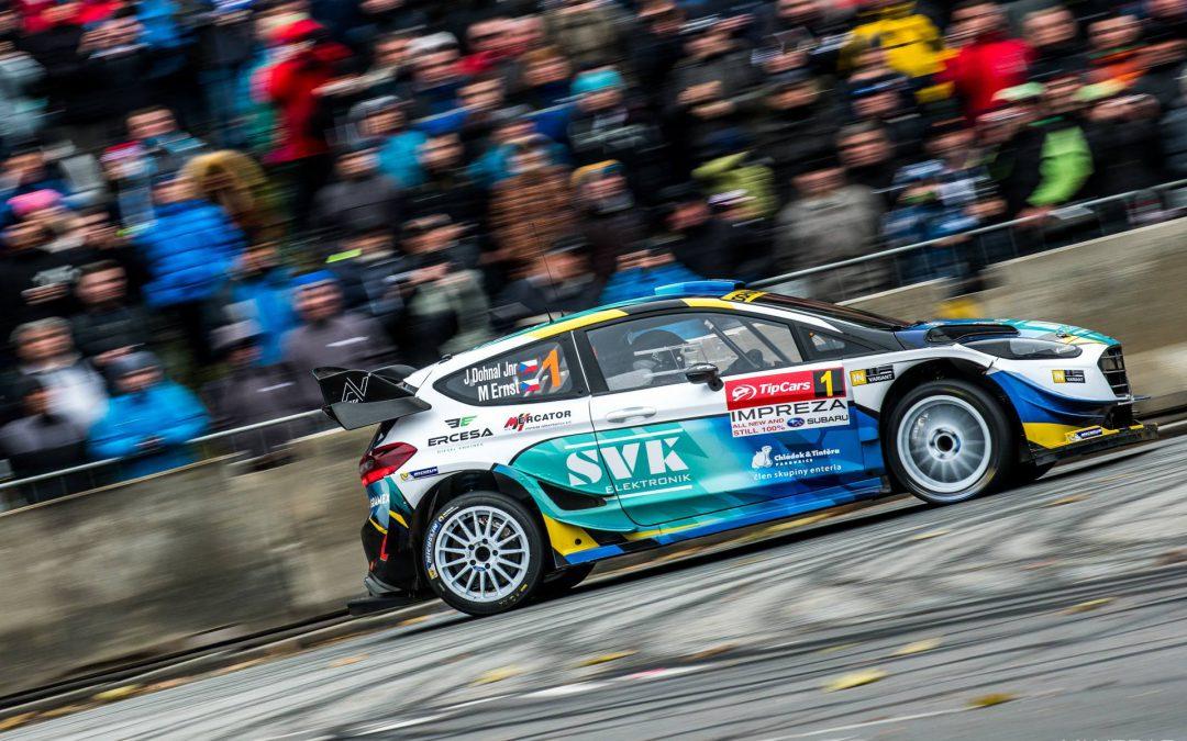 VÍTĚZSTVÍ NAŠÍ POSÁDKY na Pražském rallysprintu v poslední specifikaci vozu Ford Fiesta WRC´17!